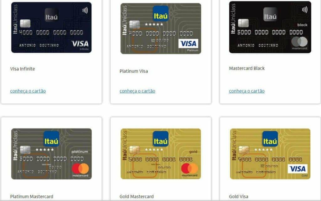 cartão pré pago Itaú